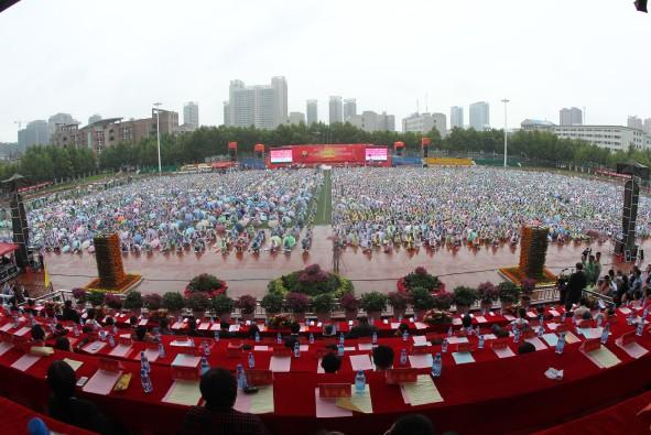 西安外事学院隆重庆祝建校20周年 孙清云出席(图文)