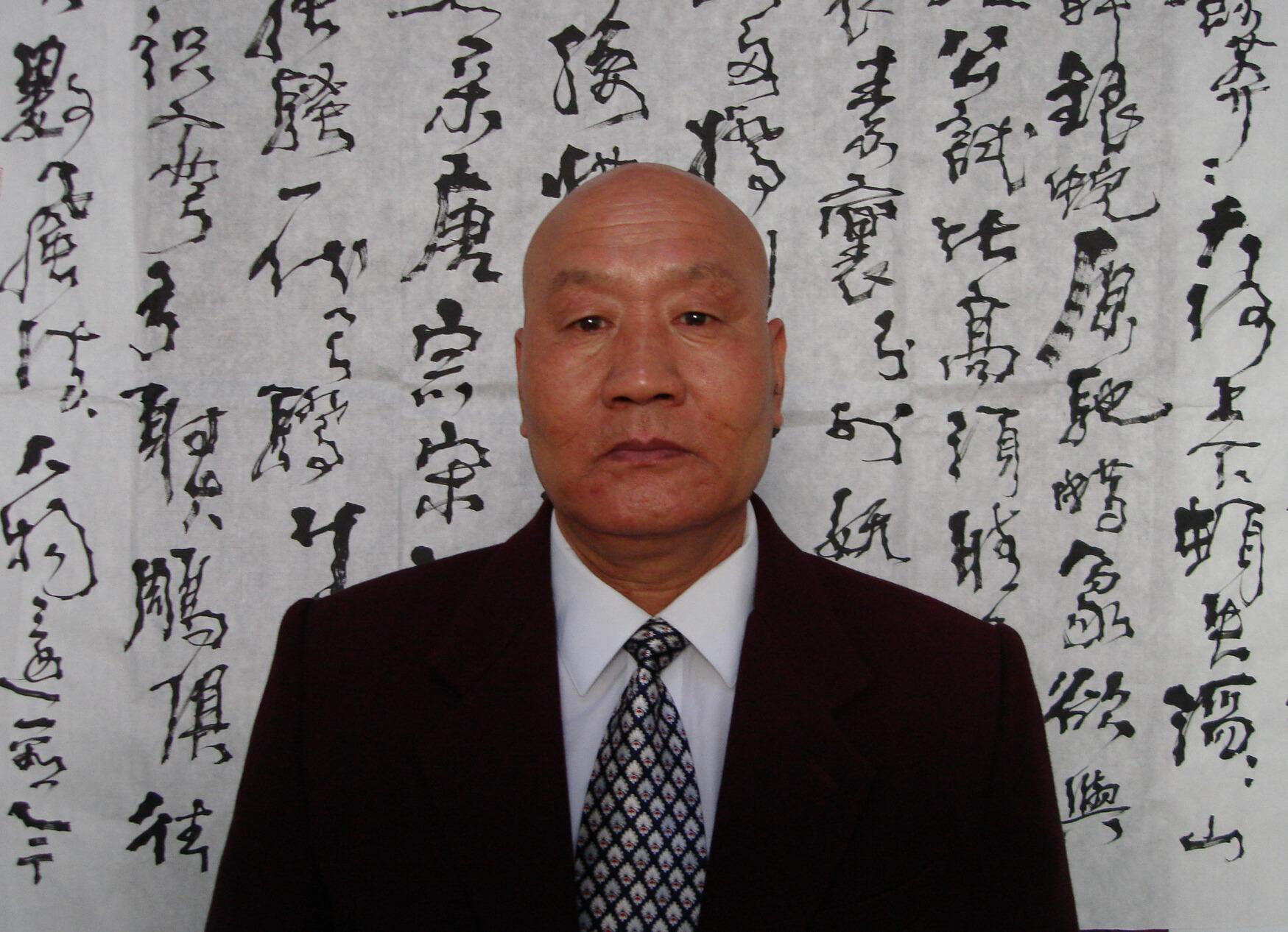 【书画名人】书法圣师―张秀民(图文)