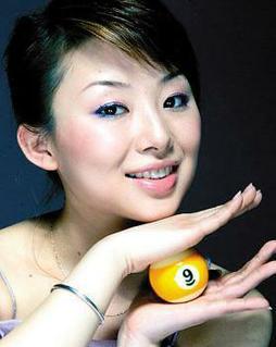 潘晓婷/台球美女冠军潘晓婷