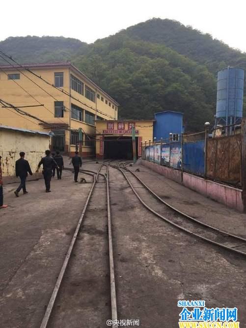 铜川耀州照金煤矿发生透水事故11人失联(图文)