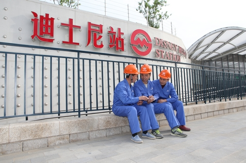 中铁一局电务公司为上海迪士尼搭建远程通信监控中枢