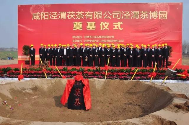 泾渭茶博园项目全面启动(图文)