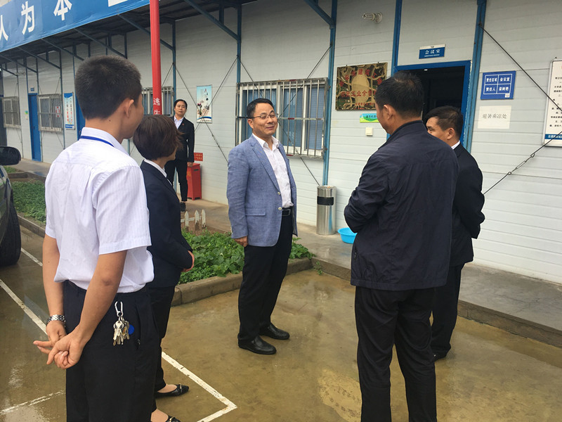 陕建一建集团三季度综合检查对标第四公司陕汽项目(图文)
