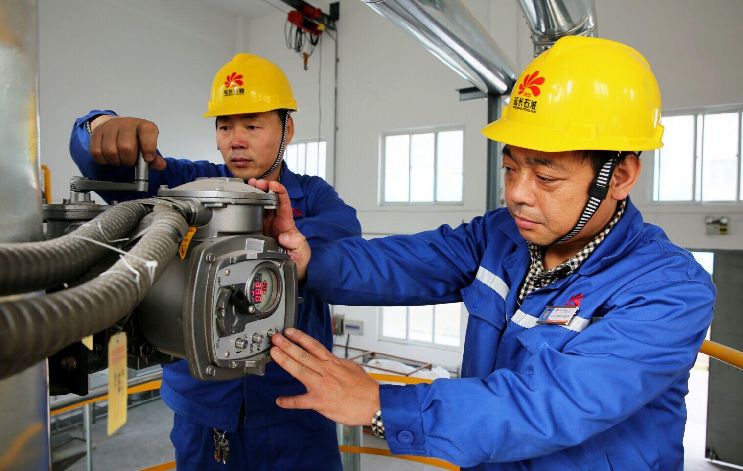 延安石油化工厂投用连排水取暖系统