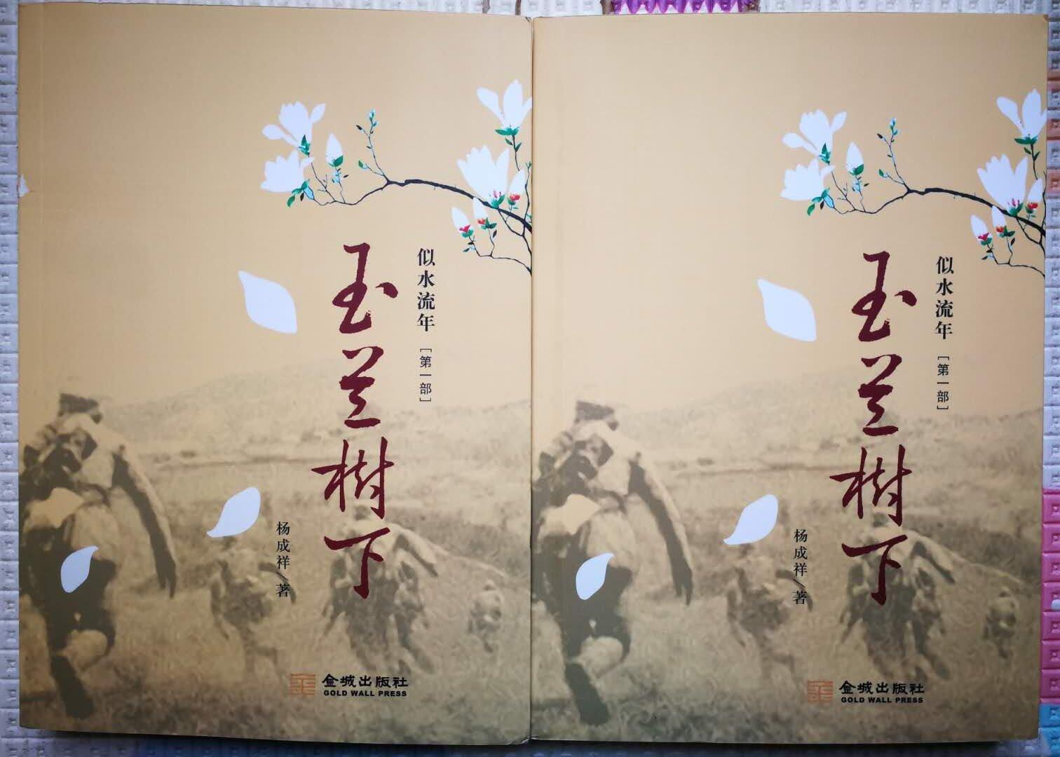 七旬铁路工人写就26万字长篇小说《玉兰树下》